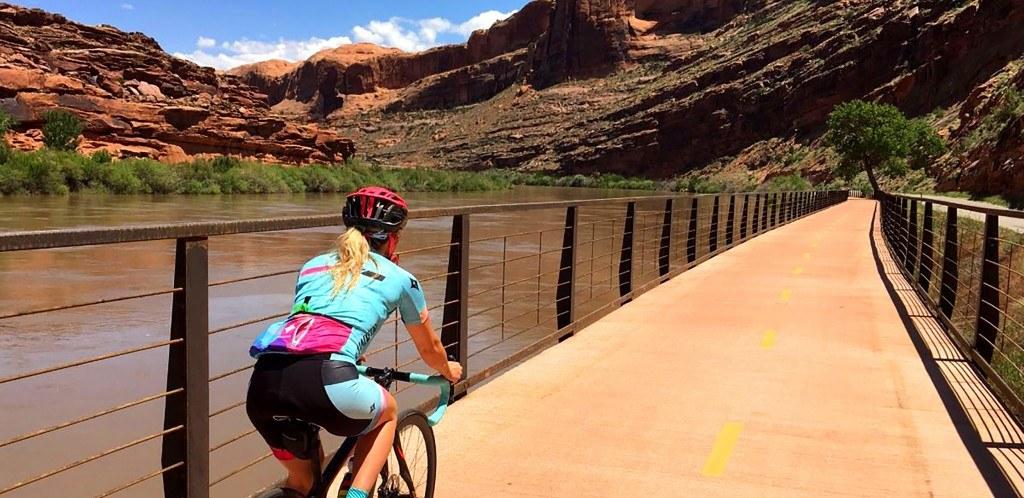 Caroline Gleich Biking 2