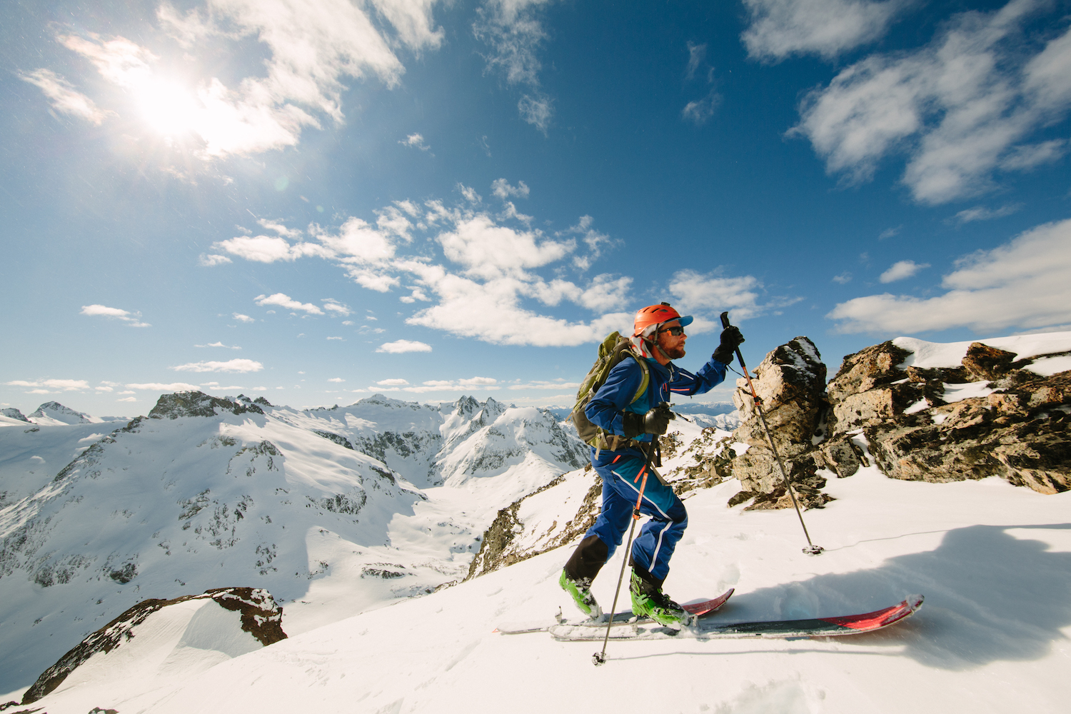 Aaron Rice's Journey to 2.5 Million Human Powered Vertical Feet of Skiing — In One Year