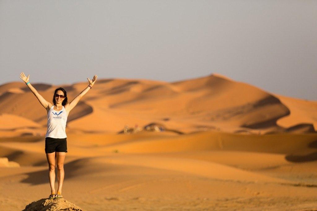 One of my races through the Sahara Desert