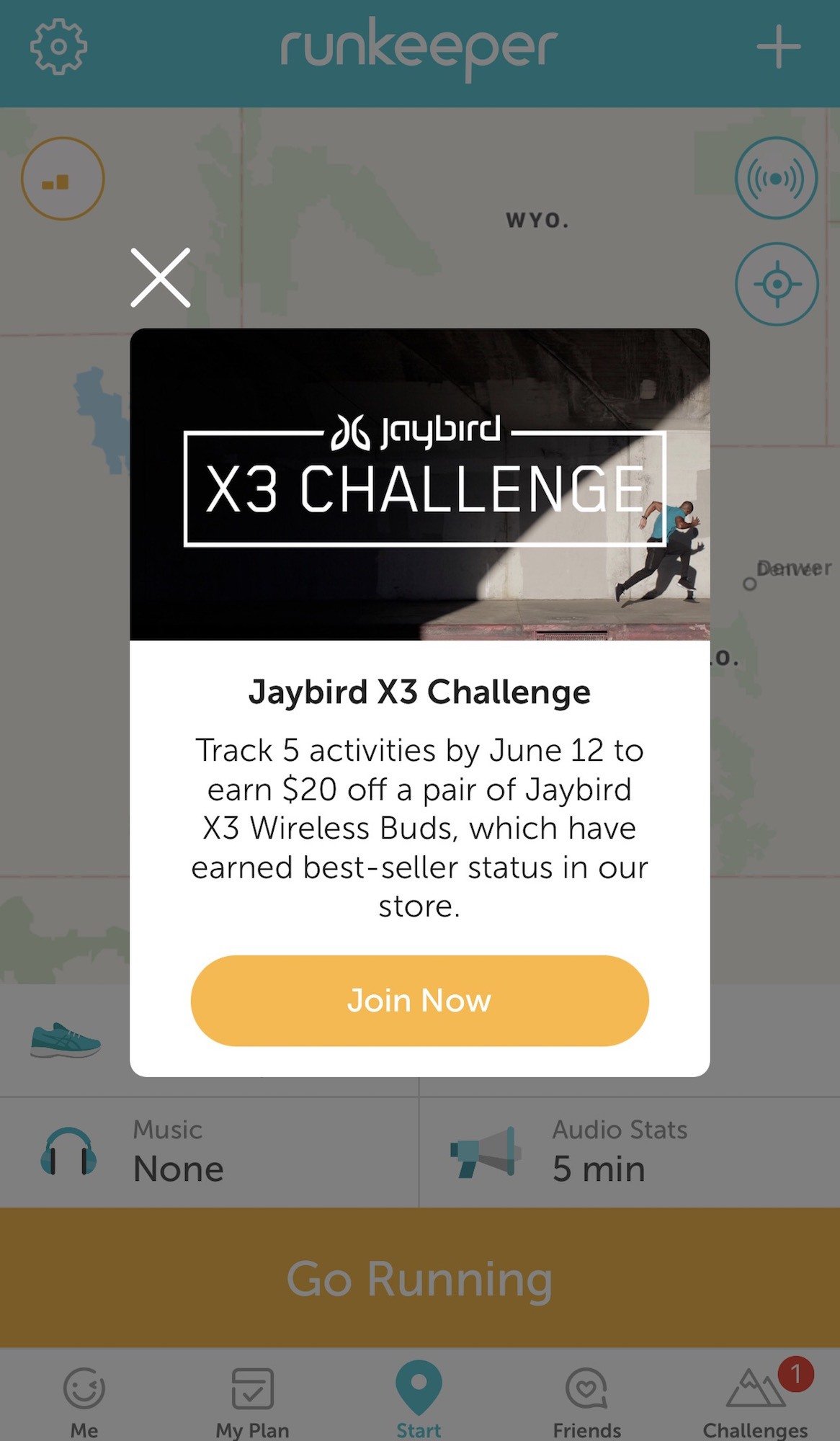 Jaybird and Runkeeper Team Up to Offer the Ultimate Listening Experience for Runners