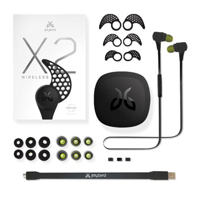 Jaybird X2 Bluetoothイヤホン Midnight 4
