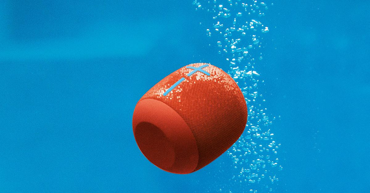 Ultimate Ears Waterproof Wireless Speakers, Seriously Waterproof